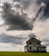 Four Square (TigerPal) Tags: sky cloud foursquare prairie saskatchewan plains drama backroads cloudporn sask gravelroad rouleau dustyroad oncewashome