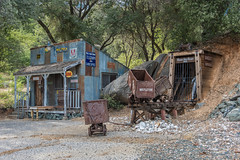 RHM_2146-1489.jpg (RHMImages) Tags: california foothills sign town us nikon rust unitedstates historic rusted mines western mistletoe rusting roadside roadsideattraction telegraph carts oldwest roughandready d810 roughready cableoffice