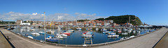 IMG_2988-2995 (Yorkshire Pics) Tags: scarborough panorama 2506 25062016 june scarboroughpanorama scarboroughharbour boats moorings harbour