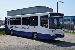 BIG 8843 (markkirk85) Tags: new travel bus ex buses big dash western alexander dennis panther clacton dart lps 390 121996 8843 p390 p390lps big8843