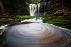 Swirl Monster (T. Morris) Tags: longexposure beautiful waterfall scenery rocks scenic westvirginia blackwaterfalls tannins blackwaterfallsstatepark tuckercounty leefilters daviswestvirginia elakalafalls shaysrun bigstopper elakala1