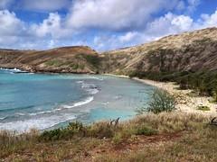 Hanauma bay, Honolulu, Ohau, Hawaii (speednurse) Tags: iphone4s 1day1shot hawaii ohau honolulu hanaumabay
