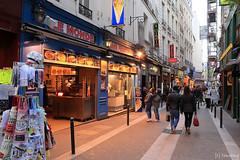 Rue de la Huchette Paris (tomosang R32m) Tags: paris france   ruedelahuchette