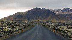 we're on the road to nowhere (lunaryuna) Tags: voyage travel mountains iceland journey wilderness lunaryuna strangeness hraun lavafields volcaniclandscape theroadtonowhere snaefellsnespeninsula westiceland onadifferentplanet