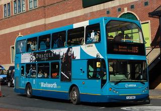 7454 YJ57BVE Newcastle X15