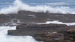 Waves Breaking (Rckr88) Tags: ocean africa travel sea nature water rock southafrica outdoors coast rocks waves south wave coastal coastline gardenroute tsitsikamma easterncape breaking rockycoastline tsitsikammanationalpark wavesbreaking