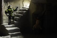 What Lurks at Night (novuscarpus) Tags: toys costume yeah spooky horror oh diorama booga ohhh babby ooga bbabby