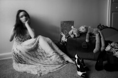 (Carli Vgel) Tags: blackandwhite portraits dark magic selfportraits surreal minimal indoors stillife carlivgel