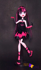 Draculaura Sweet Screams (PurpleandOrangeMH) Tags: draculaura monster high doll mueca punta arenas chile orange purple basic 2 draculocker sweet screms skull shores gloom beach diener music festival
