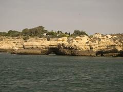 Kstengebirge an der Kstenlinie (esseffdeearr) Tags: portugal algarve olhos dagua riu guarana praia da falesia albufeira portimao vacation