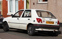 L779 FCW (1) (Nivek.Old.Gold) Tags: ford fiesta 1994 fresco 5door raunds 11i kwgmotors farlowboyce