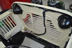 Neater wiring (pbraun) Tags: minimokerestoration moke minimokewiring reassembly englishminimoke austinminimoke earlymoke britishmoke 65moke