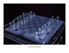frozen game (ojoartificial) Tags: chess ajedrez frio hielo