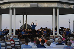 Rehoboth Concert Band - July 26th, 2016 (Rehoboth Beach Bandstand) Tags: music beach delaware bandstand rehoboth