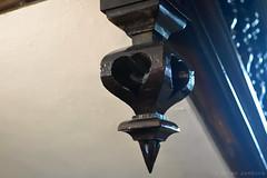 Eyam Hall Woodwork (Bri_J) Tags: uk woodwork nikon heart derbyshire stairway nationaltrust eyam eyamhall d7200
