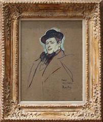 Henri de Tolouse-Lautrec - Henri-Gabriel Ibels 1892-93 (ahisgett) Tags: new york art museum met metropolitian