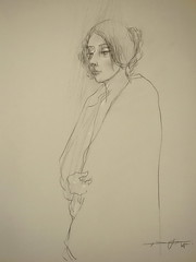 P1015259 (Gasheh) Tags: art painting drawing sketch portrait girl figure pencil gasheh 2016