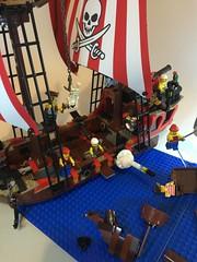 The Brick Bounty (bricktasticblog) Tags: skeleton ship pirates cannon pirateship brickbounty bluecoatbay