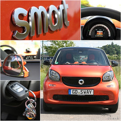 new Smart #1 (Sway Dench / Sway's) Tags: smart car orange auto mercedes daimler mercedesbenz