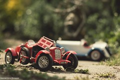 Playing with cars (Barton -Photography) Tags: cars outside cabrio miniatuur schaalmodellen