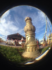 In the Expedition (CoasterMadMatt) Tags: park parque espaa fish eye primavera port de lens photography amusement spring spain foto distorted photos may fisheye mayo themepark aventura espaol fisheyelens atracciones iphone fotografa fotografas portaventura parquetemtico 2013 coastermadmatt uploaded:by=flickrmobile flickriosapp:filter=nofilter shambhalaexpedicinalhimalaya