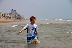 (Michael Bentley) Tags: ocean vacation beach sand andrew playtime oceancity oceancitymd canonefs1585mmf3556isusm