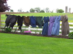 Plain and simple Amish laundry (Mimi_K) Tags: usa pennsylvania amish laundry lancaster clothesline washing drying amishcountry