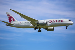 Qatar Airways Boeing 787-8 Dreamliner (Marcellinissimo) Tags: boeing airways zurichairport qatar zrh lszh dreamliner 7878 a7bca