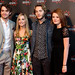 Jamie Blackley, Joanne Froggatt, Toby Regbo and Amy Wren at the UWantMeToKillHim photocall at Cineworld