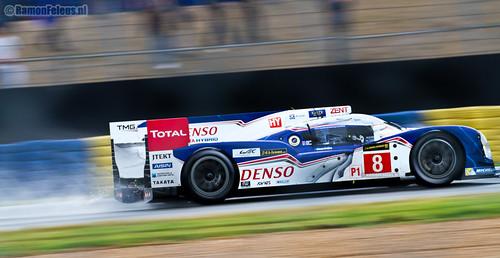 #8 Toyota Racing TS030 Hybrid