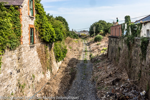 Streets Of Dublin - What Remains Of The Railway Terminating At Broadstone