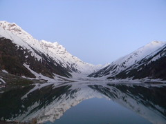 Saif ul Maluk Lake (Sayed Abdullah Hussain) Tags: lake reflection evening saifulmaluk saifulmalook