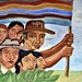 Murales del municipio che racconta la storia delle lotte in Guatemala (3)