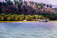 Naf River in winter (Mijan Rashid) Tags: tree green ferry canon river march violet stmartin hills bangladesh naf coxsbazar teknaf canon1100d