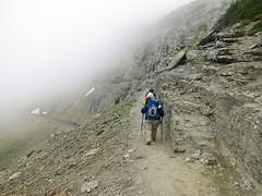 hiking the Highline Trail (jcoutside) Tags: montana backpacking glaciernationalpark