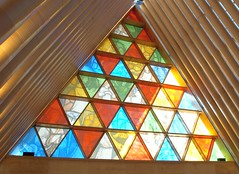 "Christchurch Transitional ""Cardboard"" Cathedral (jurassicjay) Tags: travel newzealand christchurch architecture buildings cathedral religion canterbury cardboard nz southisland christianity shigeruban cardboardcathedral"