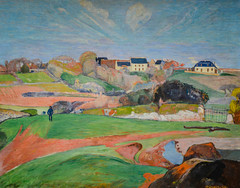 Paul Gauguin - Landscape at Le Pouldu, 1890 at National Art Gallery Washington DC (mbell1975) Tags: art museum painting french landscape paul smithsonian us dc washington districtofcolumbia gallery museu unitedstates fine arts muse musee m national le impressionism museo impression impressionist 1890 muzeum nga gauguin beauxarts mze pouldu musea museumuseum