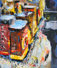 Web. Chinatown Street Corner No.3 (ChinatownBranch) Tags: nyc newyork art painting sketch cityscape drawing streetscene chintown