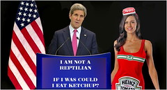 Simple logic (seeviewer) Tags: red woman hot eye photoshop tomato dress candy ketchup joke political politics satire alien humor vegetable babe kerry elite reagan brunette republican liberal heinz shapeshifter equal reptilian