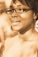 (Cliff Michaels) Tags: girls portrait sepia photoshop nikon women faces headshot africanamerican d5000 pse9