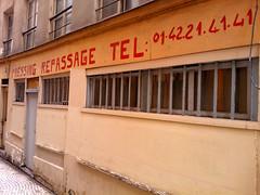 Paris 2013 (Hanoi1933) Tags: street streetart paris france shop rivedroite magasin streetphotography boutique storefront drycleaning ironing vitrine parigi pressing devanture   repassage parisstreetart  2013  nokia800