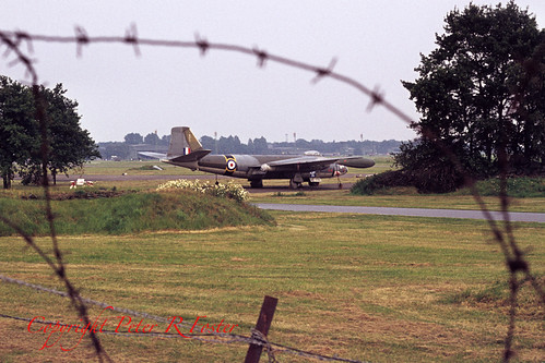 Canberra B(I)-8 WT336 ex 16 sqn