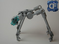 "Nanotec ""Silberfisch"" (Dead Frog inc.) Tags: fiction robot lego space science planet scifi fi sci droid scientific silverfish moc laboratorys silberfisch"