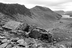 The Retreat (PIX SW) Tags: blackandwhite bw blackwhite lakedistrict cumbria thelakes buttermere thelakedistrict desres theretreat