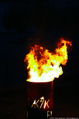 Fire In The Barrel (Vahan Aghajanyan) Tags: orange black night dark fire barrel ночь огонь тьма бочка гореть
