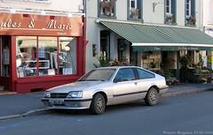 Opel Monza 1985 (XBXG) Tags: auto old mer france classic car vintage germany de deutschland automobile voiture german sur frankrijk pas 1985 62 montreuil calais opel deutsch ancienne monza pasdecalais allemande montreuilsurmer opelmonza