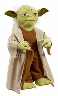 Underground Toys – 1:1 比例 可發聲 Yoda 尤達大師 娃娃