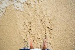 Sandy Feet (StevePilbrow) Tags: trees holiday feet beach sand nikon holidays dominican republic sunny palm thomson heat bambu riu bavaro clubhotel 2013 d3200