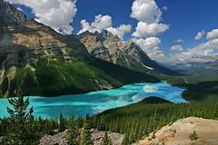 Peyto Lake, Canada (ssndct) Tags: mountain lake canada rockies northamerica banff peytolake
