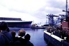 Image titled QE2 Launch September 1967